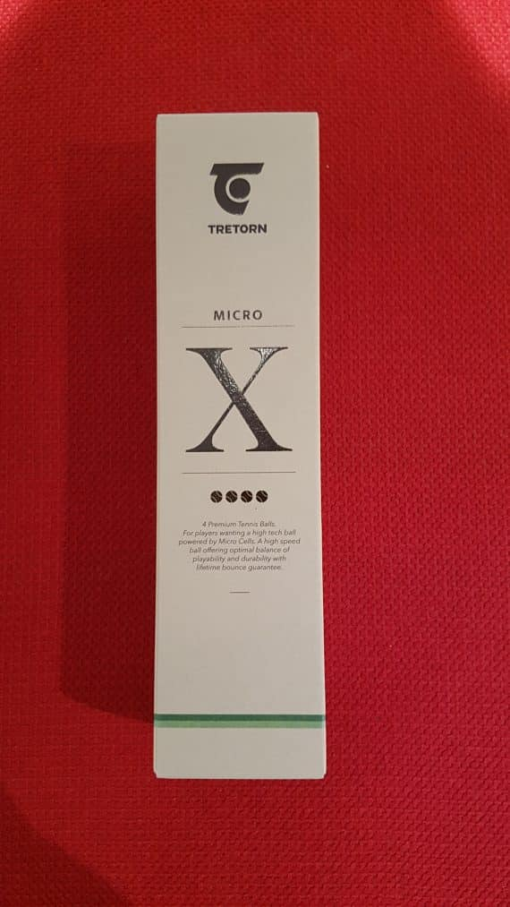 TRETORN MICRO X (4-balls)