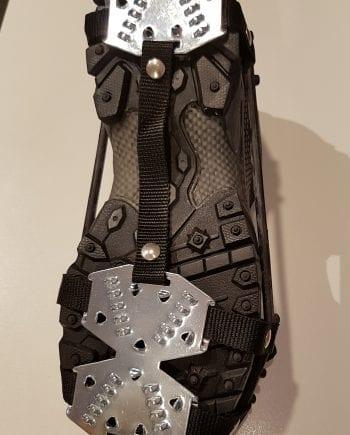 Anti-slip ijzers voor onder de schoen