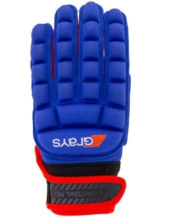GRAYS INTERNATIONAL PRO GLOVE blauw rood