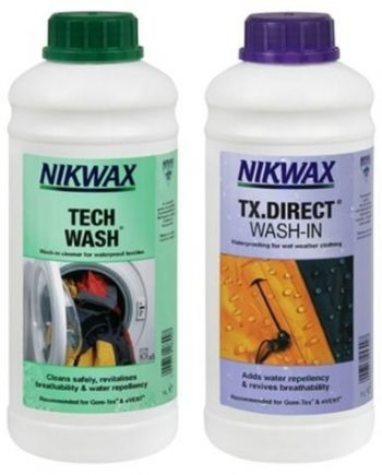 NIKWAX Twin Pack Tech Wash / TX-Direct 1 Liter