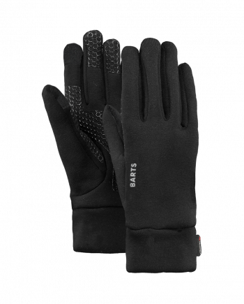 BARTS POWERSTRETCH TOUCH GLOVES Zwart