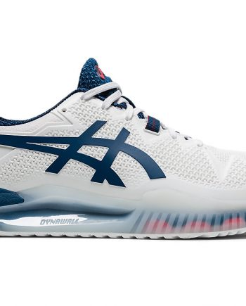ASICS GEL-RESOLUTION 8 CLAY White/mako blue