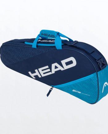 HEAD ELITE 3R COMBI Navy Blue Als je niet al je spullen op de baan wilt meenemen, pak dan lichter in met de HEAD ELITE 3R COMBI Navy Blue.