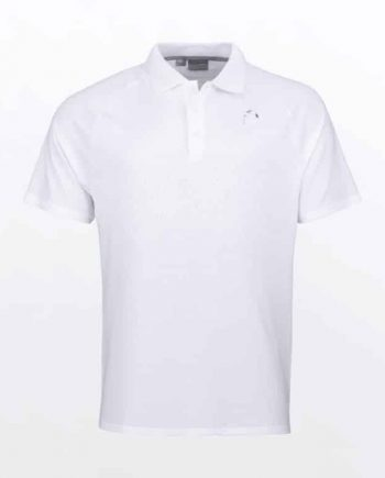 HEAD PERFORMANCE POLO II Wit heren