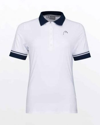 HEAD PERFORMANCE POLO II Wit