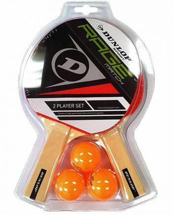 Dunlop Rage Match 2 Player Set tafeltennisset