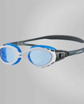 Speedo Futura Biofuse wit blauw