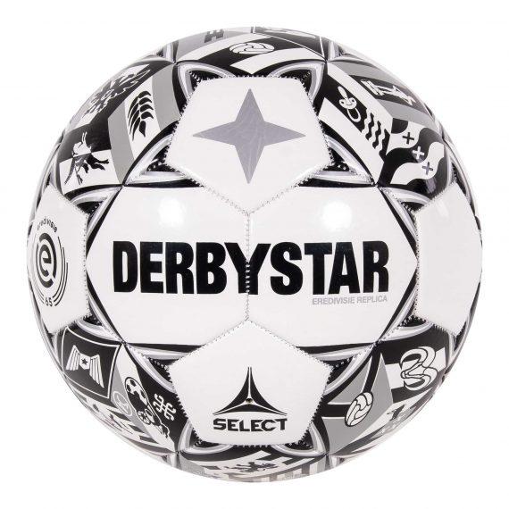 DERBYSTAR Eredivisie Design Replica 21/22 zwart wit