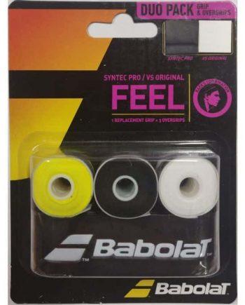 BABOLAT Duo Pack Syntec Pro / VS Original X3
