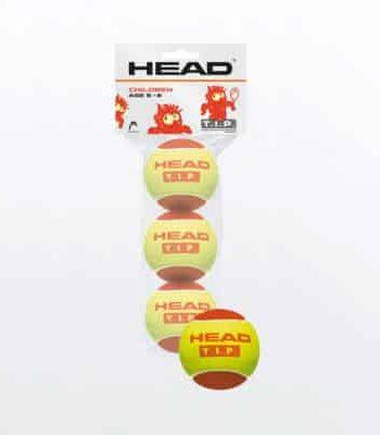 HEAD T.I.P. TENNISBAL Rood